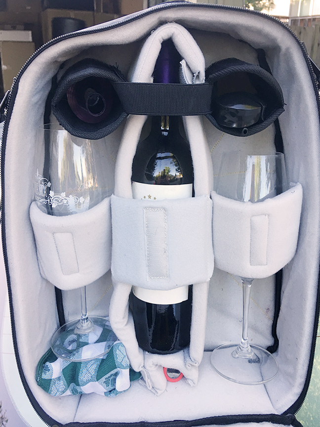 Wine Bottle & Glasses Configuration