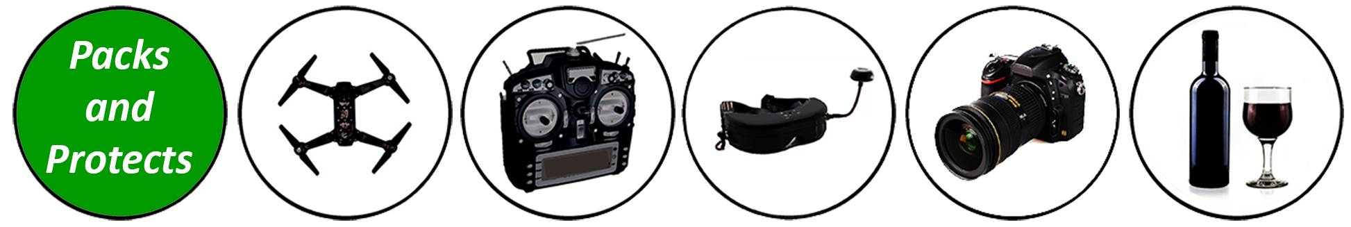 Chair-Pak FPV Pak packs and protects